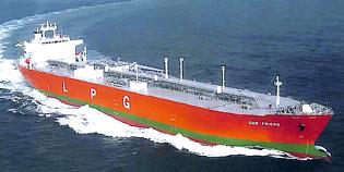 LPG船防熱工事