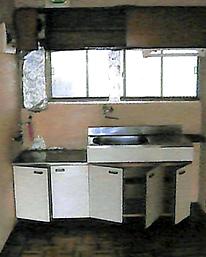 キッチン工事_施工前