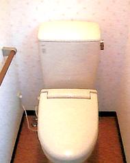 水洗トイレ工事_施工後