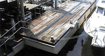 木製デッキタイプ ポンツーン