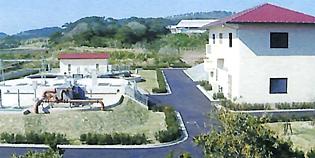 笛吹浄化センター機械設備(小値賀町)
